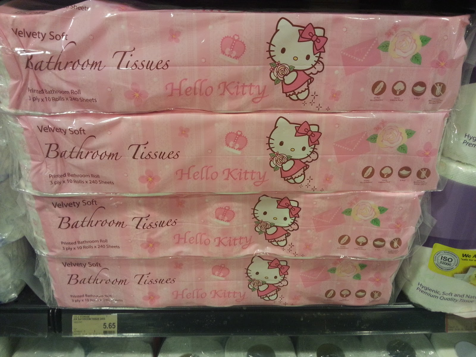 Where Can I Buy Hello Kitty Toilet Paper