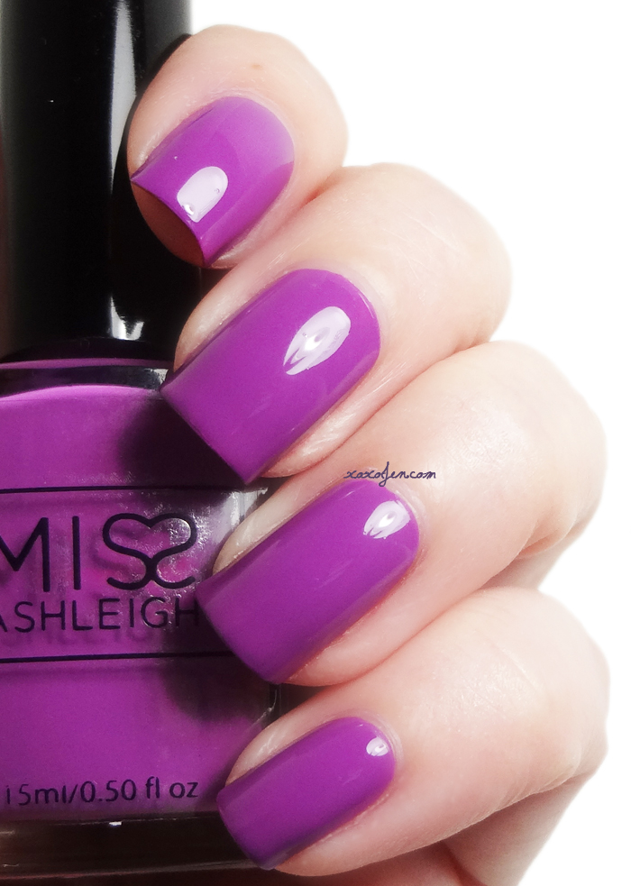 xoxoJen's swatch of Miss Ashleigh Berry Delicious