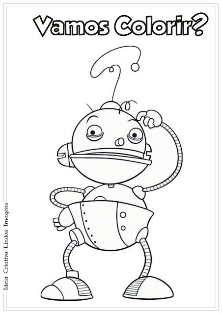 O mundo redondo de Olie desenho para colorir Vovô