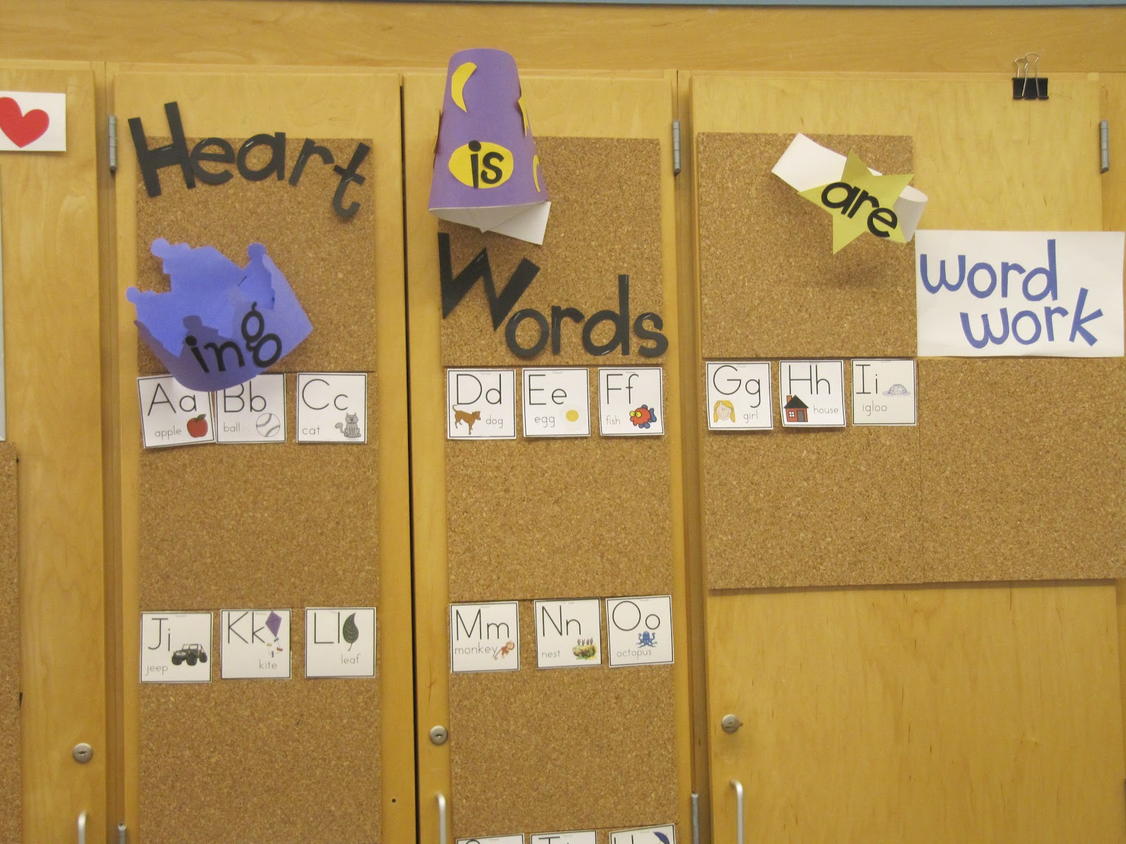Joyful Learning In KC: Word Wall Alphabet PIctures
