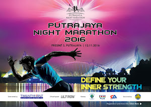Putrajaya Night Marathon 2016 - 12 November 2016