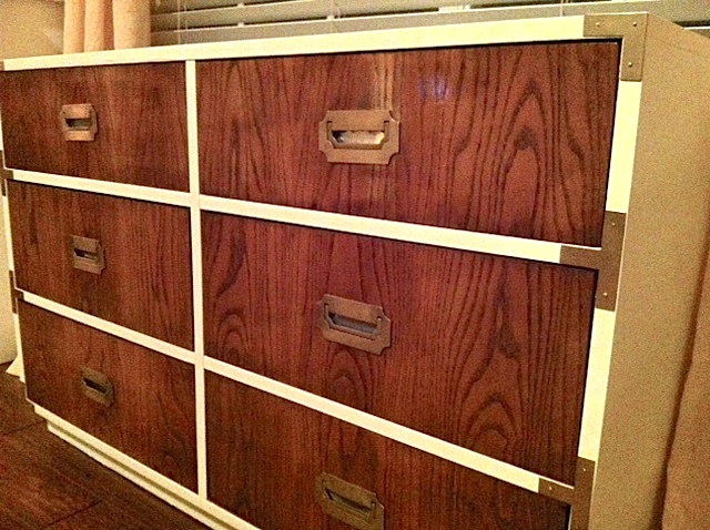 Two Tone Campaign Dresser by Dixie