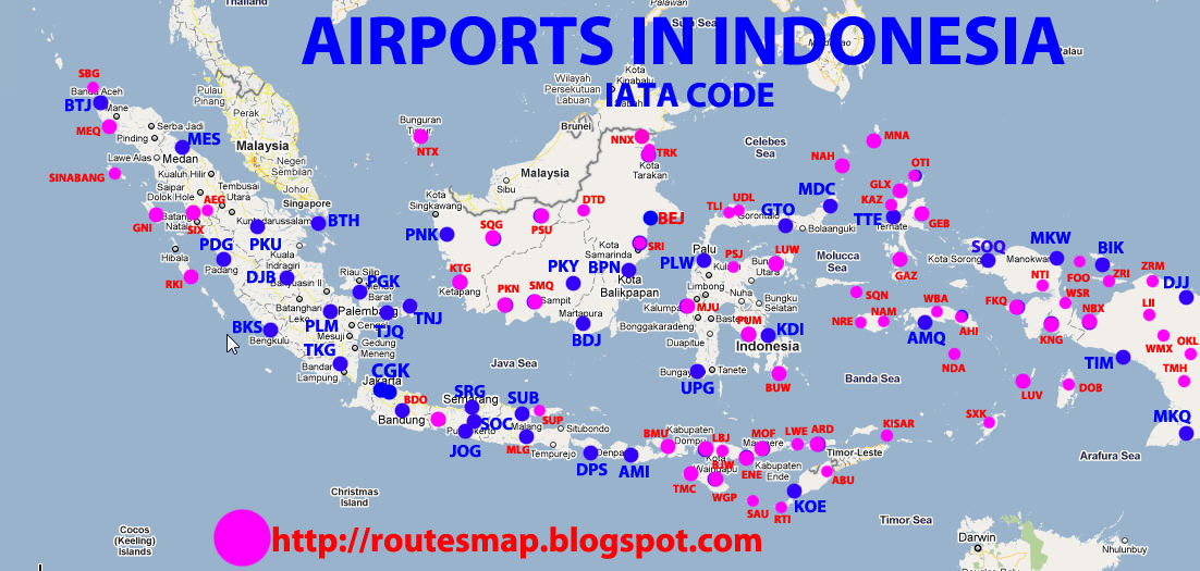 Trip To The World: Airports In Indonesia