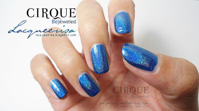 Lacqueerisa: Cirque Colors Bejeweled