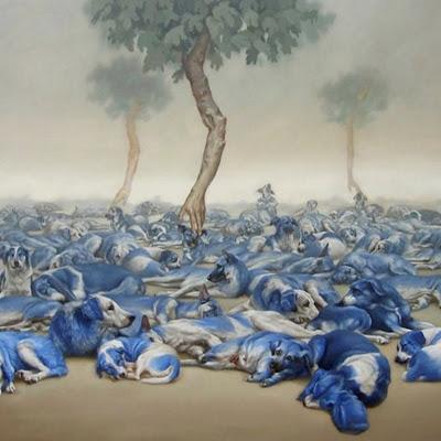 pinturas-de-perros-arte-surrealista