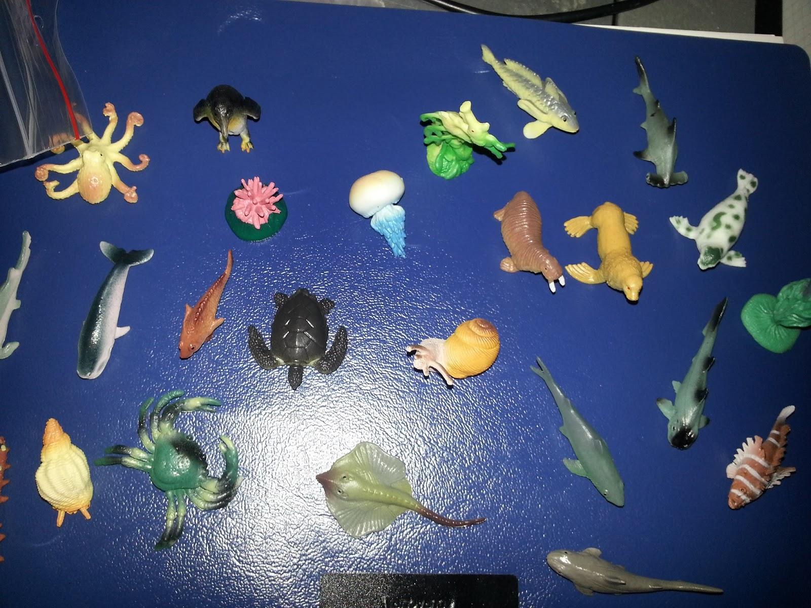 Sonja s testerblog ich teste und berichte unten im meer for Deko fische plastik