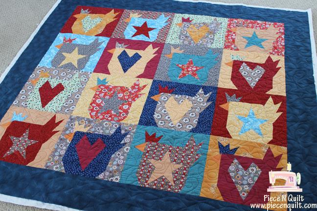 Piece N Quilt: Buggy Barn Quilts : chicken quilt block - Adamdwight.com