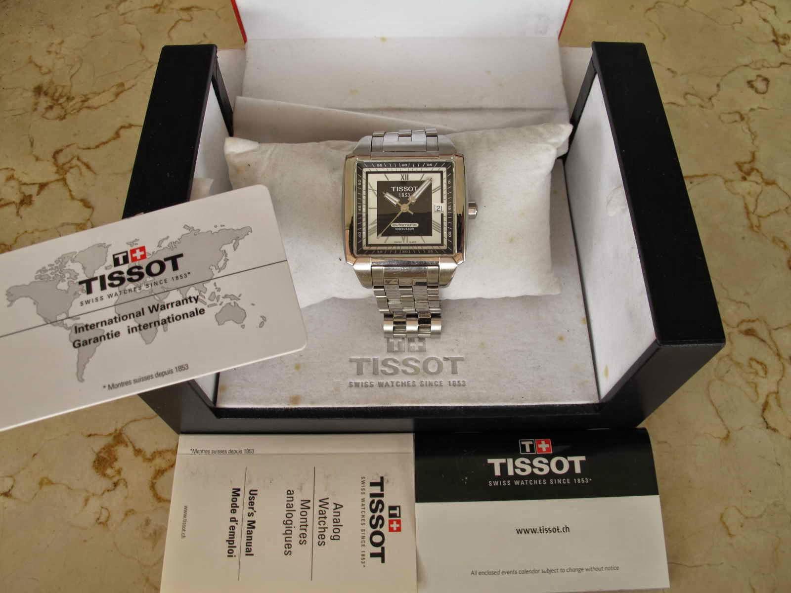 Cocok untuk Anda yang bosan menggunakan jam tangan model seperti biasanya bulat dan mencari model jam tangan dengan bentuk case kotak TV Shape