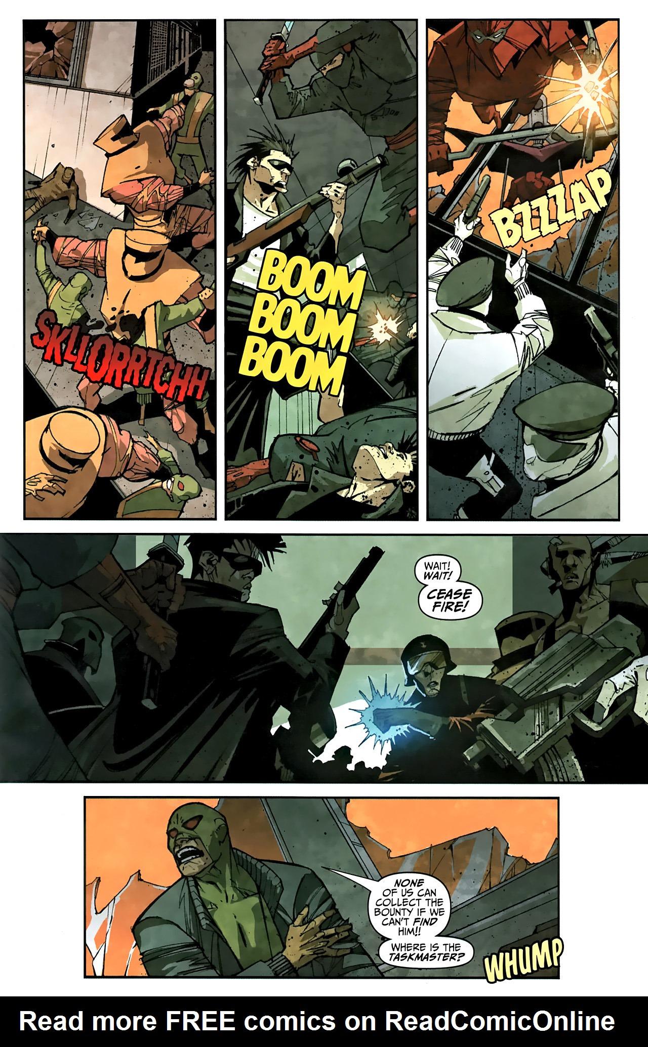 Read online Taskmaster (2010) comic -  Issue #1 - 12