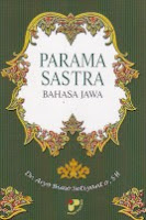 toko buku rahma: buku PARAMA SASTRA BAHASA JAWA, pengarang aryo bimo setiyanto, penerbit panji pustaka