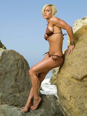 Jamie Eason in Two Piece Bikini