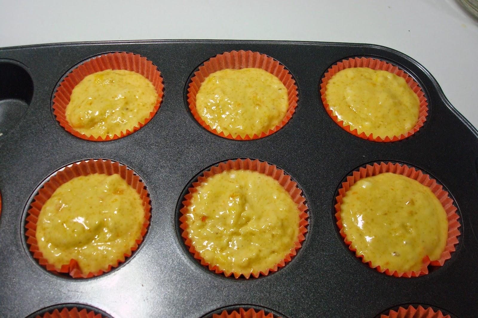 Muffin all'arancia 5