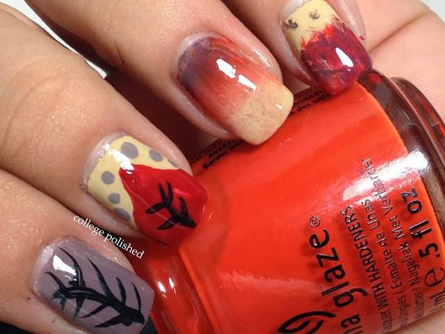 Nail Designs for Thanksgiving