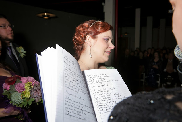 Liberty Warehouse Wedding Vows