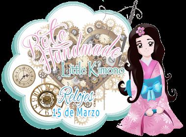 "Reto Little Kimono Handmade ""Relojes"""