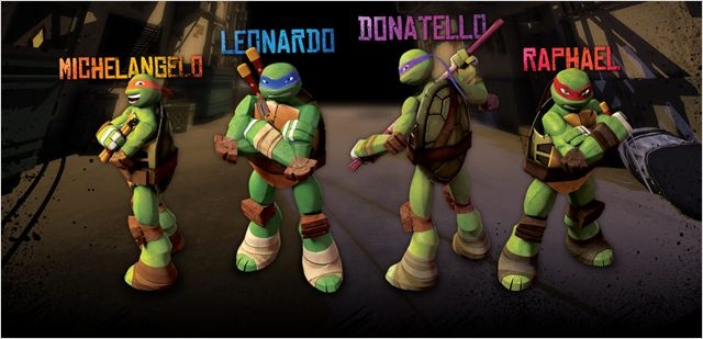Chroniques en s rie les tortues ninja sont de retour en dessin anim cowabunga critique - Dessin anime ninja ...