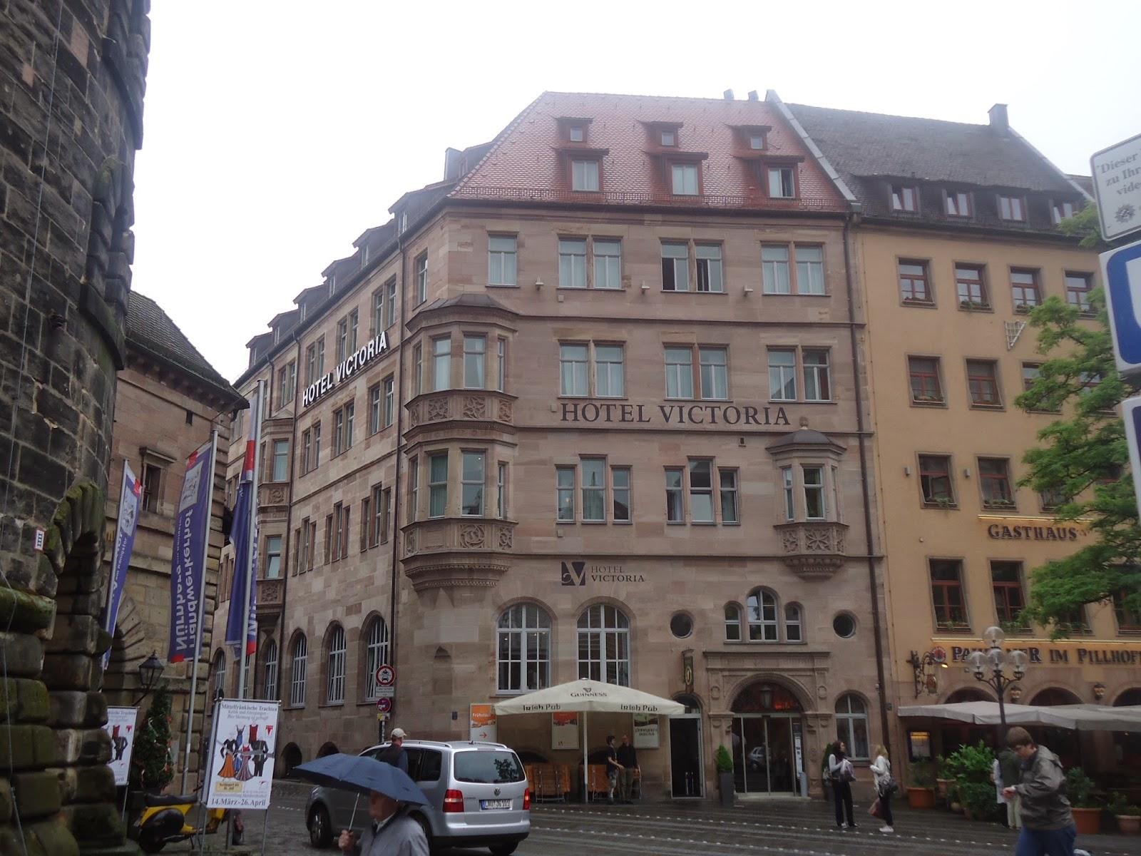 Travel Hotel Victoria Nuremberg Germany