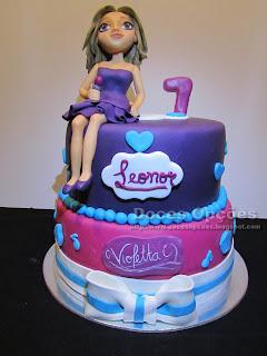 disney violetta birthday cake