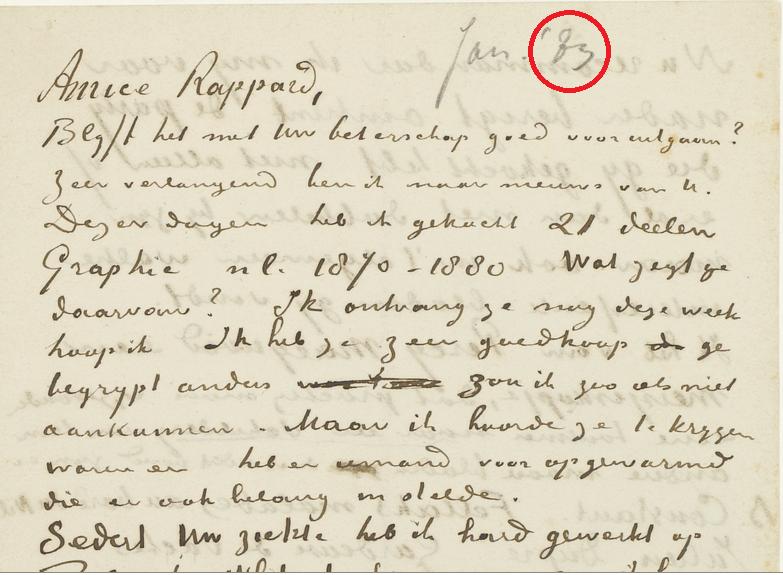 Van Gogh Letter 302
