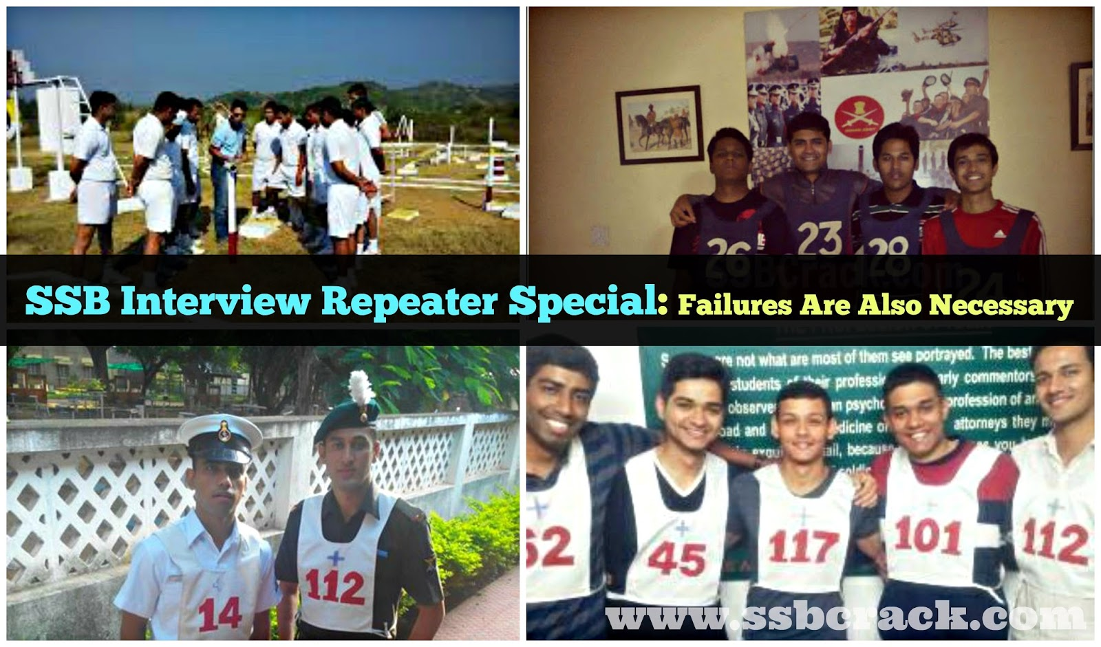 SSB Interview Repeater Special: Failures Are Also Necessary