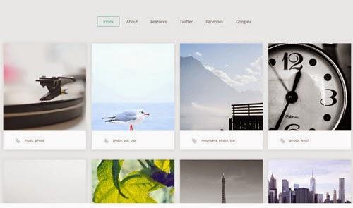 Portafolio Free Photography WordPress Theme
