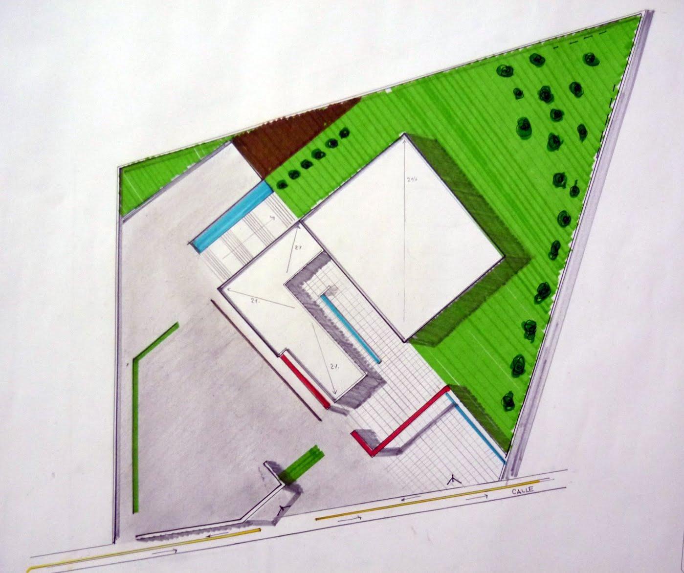 Fases de dise o planta arquitect nica de conjunto for Que es una planta arquitectonica