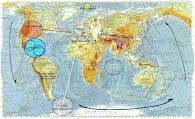 Les chakras de la terre