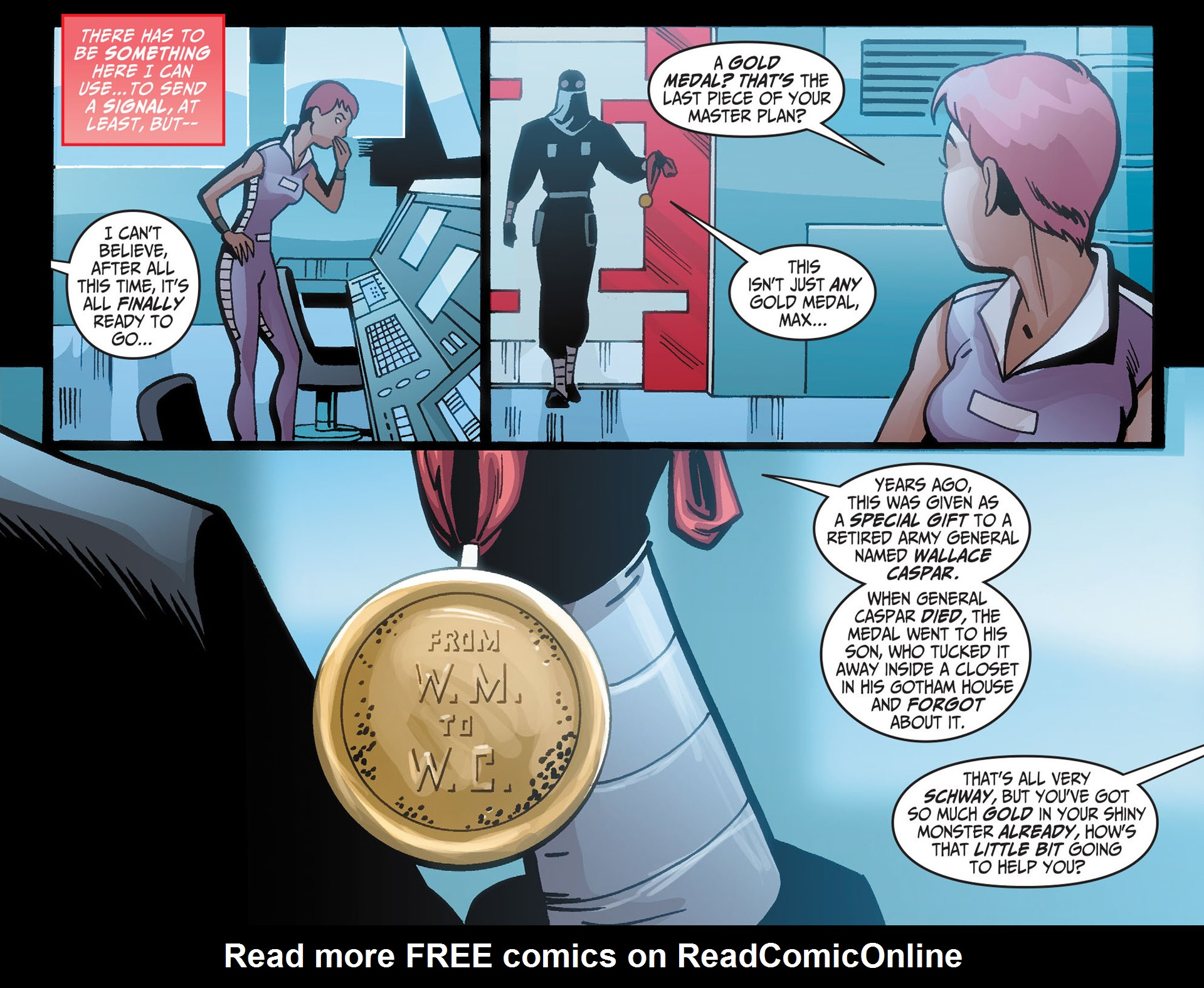 Batman Beyond (2012) Issue #21 #21 - English 8