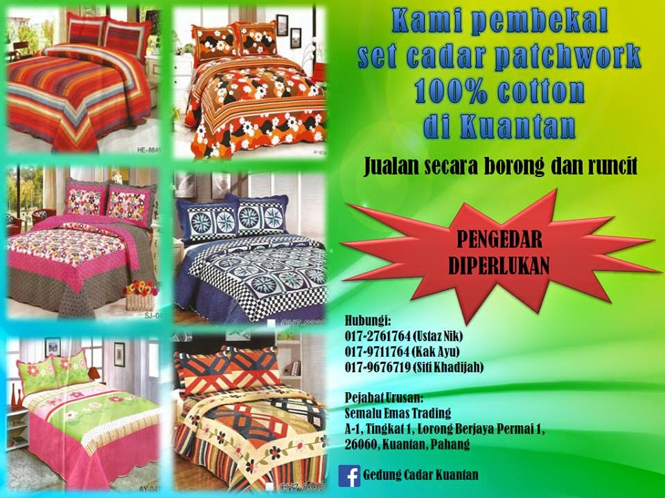 Pembekal Cadar 100% Cotton