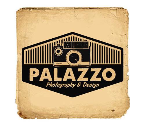 Logótipos Vintage - Palazzo Photography and Design