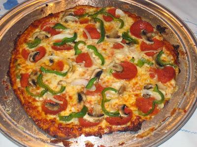 Fresh baked NY Style Pizza