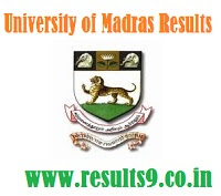 University of Madras Degree Revaluation Results 2013