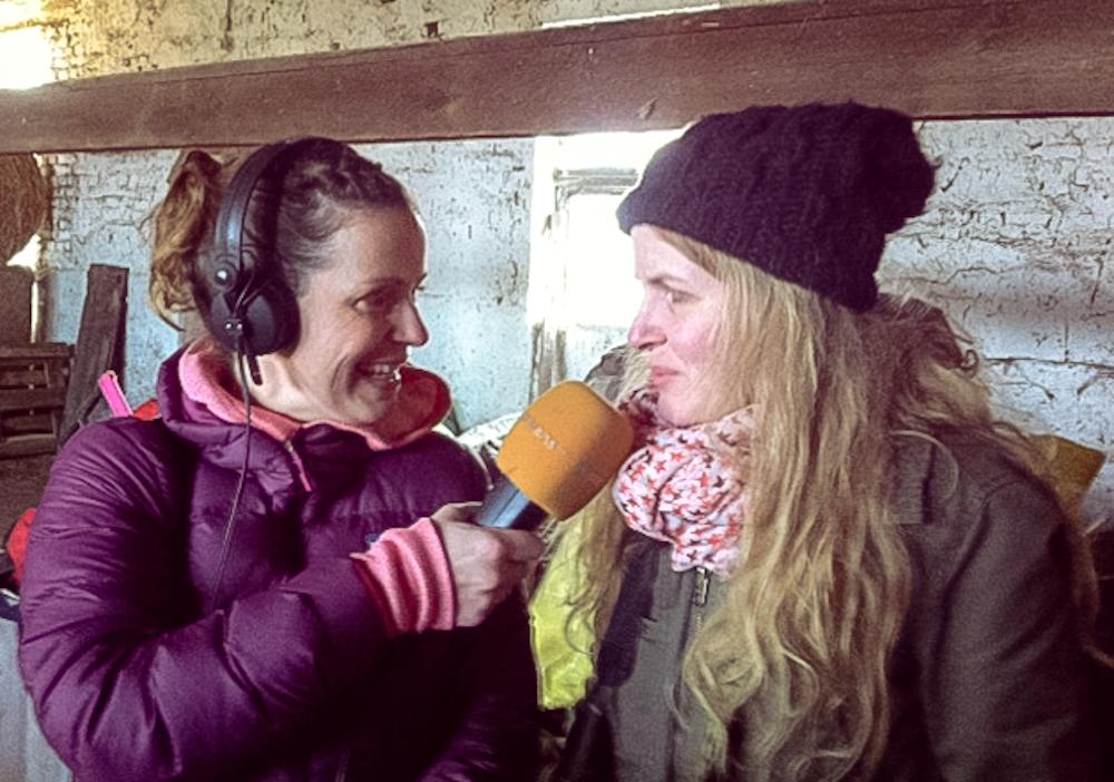 Patricia Pantel interviewt inka