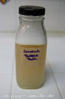 Coconut Oil Bubble Bath