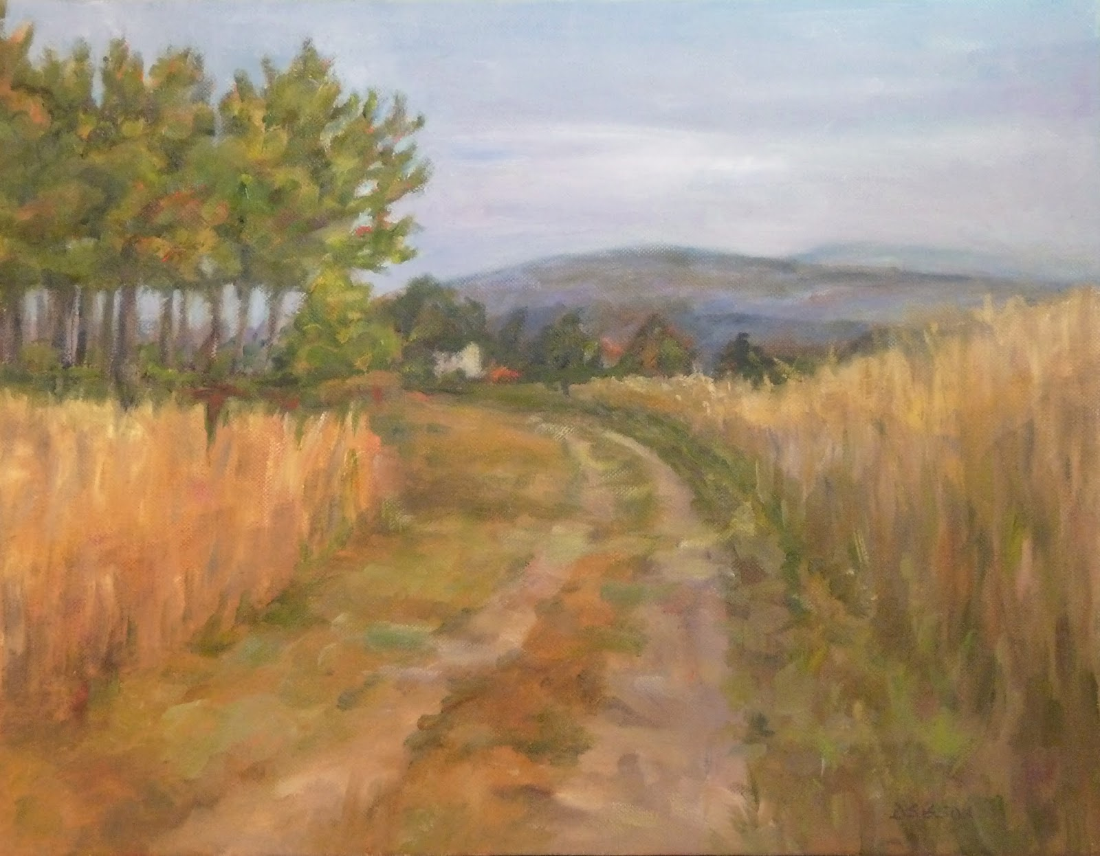 Country Landscape Paintings