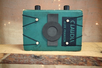 Hardback Book Pinhole Camera