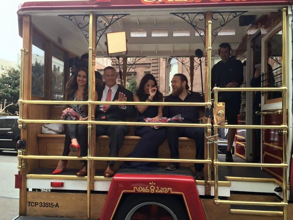 WrestleMania 31 cable car San Francisco