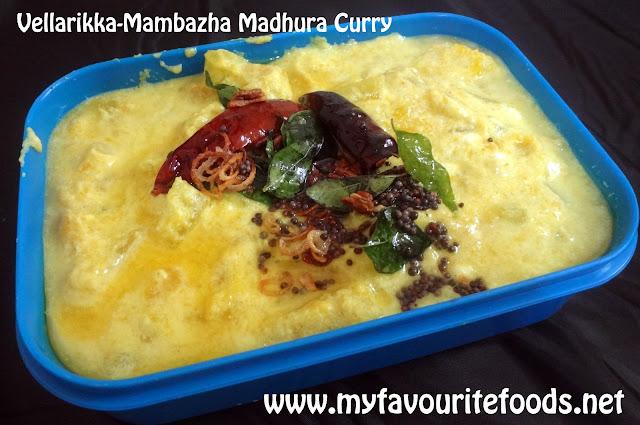 Vellarikka -Mambazha Madhura Curry