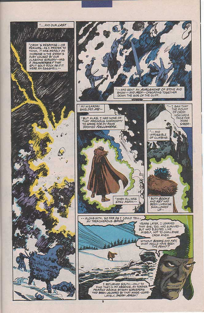 Conan the Barbarian (1970) Issue #258 #270 - English 8