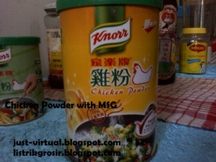 chicken powder with msg