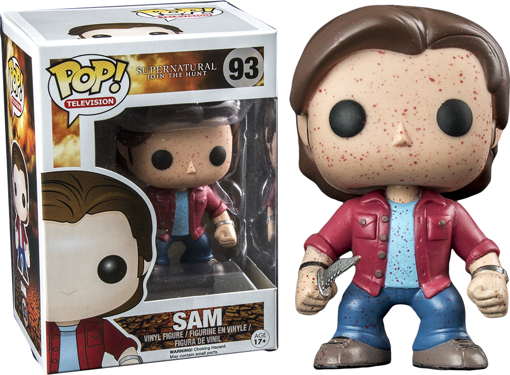 Funko Pop! Blood Splatter Sam Supernatural