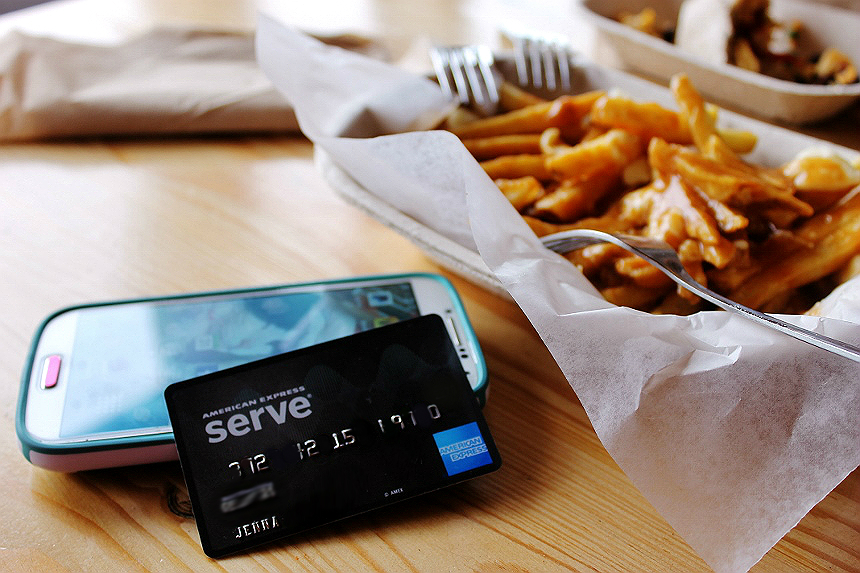 The American Express Serve prepaid card offers 1% instant cash back on all online and offline purchases as well as many other AMEX exclusive discounts and benefits, for a low monthly fee that beats the competition. #IC (ad) #ServeThemGood