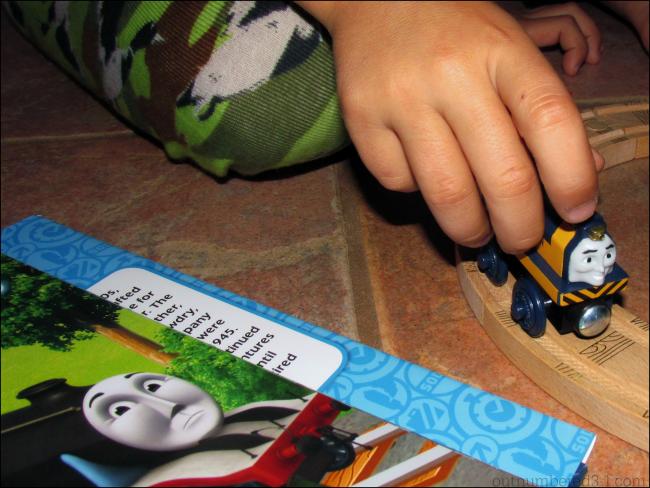 Logan & The Big Blue Engines book