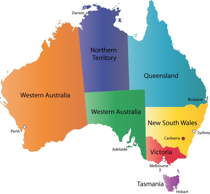 Australia Map Political.Australia Political Map Pictures Map Of Australia Region Political