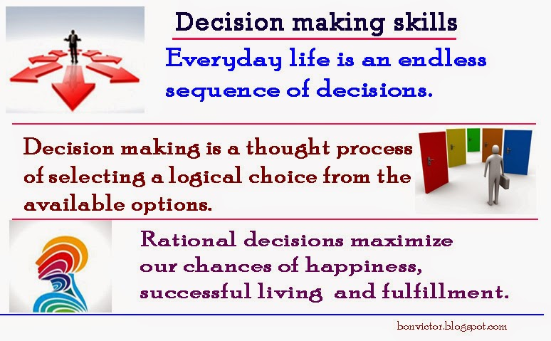 cango s decision making process The six step decision making process is commonly taught and used but is it the  best available.