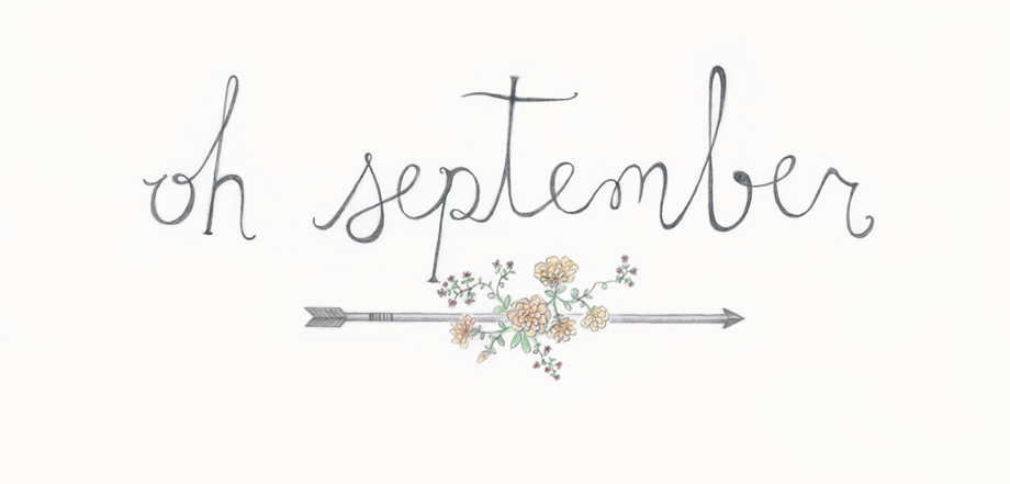 oh september | illustration by gabrielle