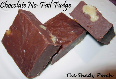 Microwave Fudge by The Shady Porch