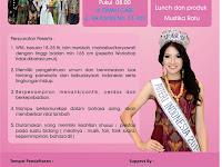 Yuk, Ikut Audisi Pemilihan Puteri Indonesia Wilayah Pati 2016