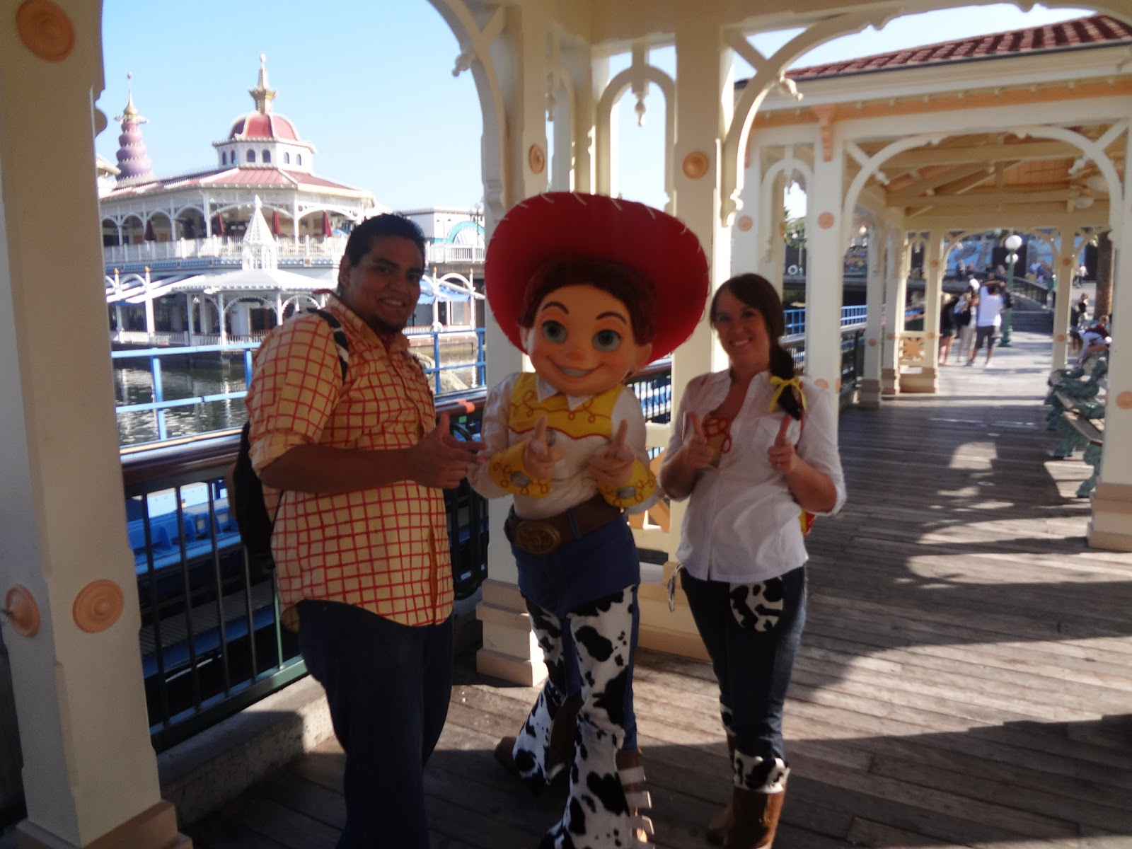 The busy broad diy adult jessie and woody costumes solutioingenieria Images