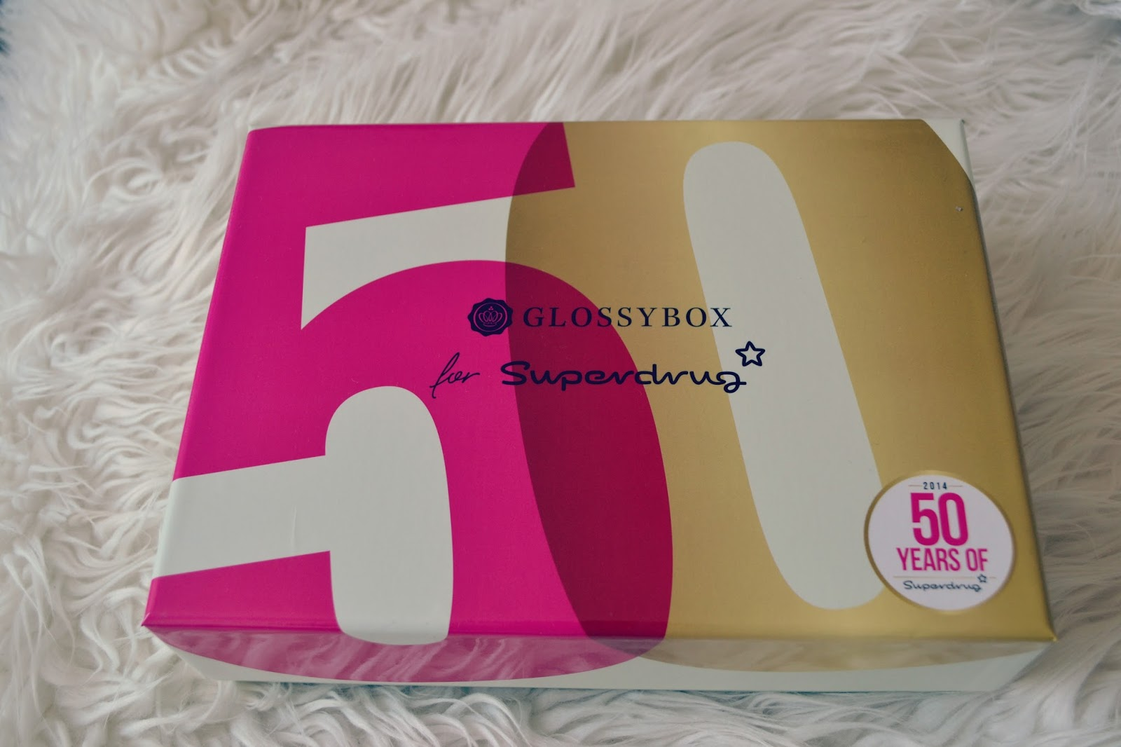 glossybox superdrug collaboration box
